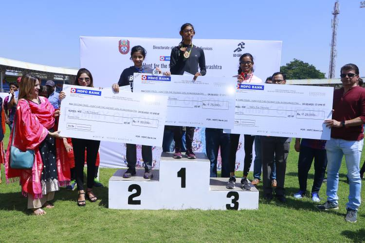 Go Girl Go campaign organized 'Hunt for the fastest girl in Maharashtra