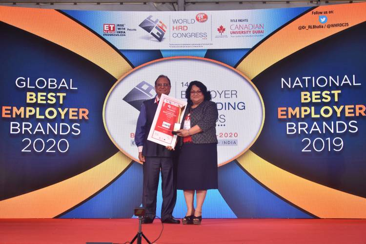 """Aeris named """"National Best Employer Brand"""" at the 28th Edition of World HRD Congress"""