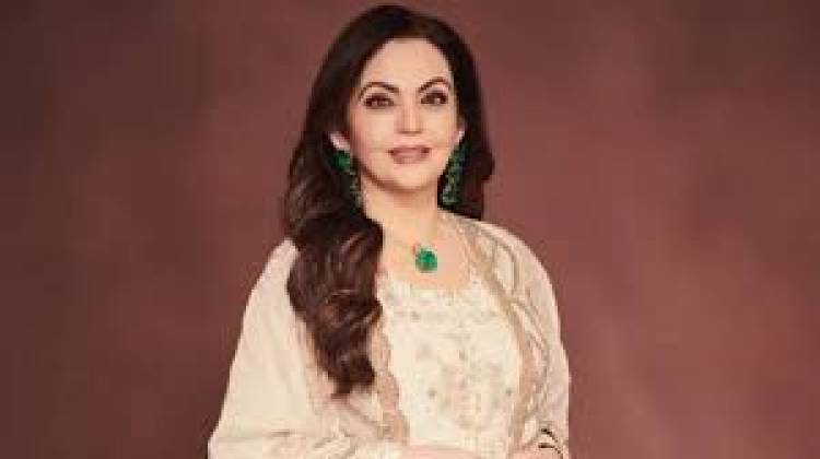 """Nita Ambani features in 10 most influential women in sports"""