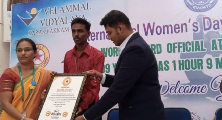 VELAMMAL'S FACULTY HONOURED