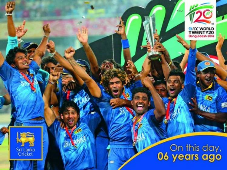 On this day in 2014:SL defeated India to lift its first T20 WC
