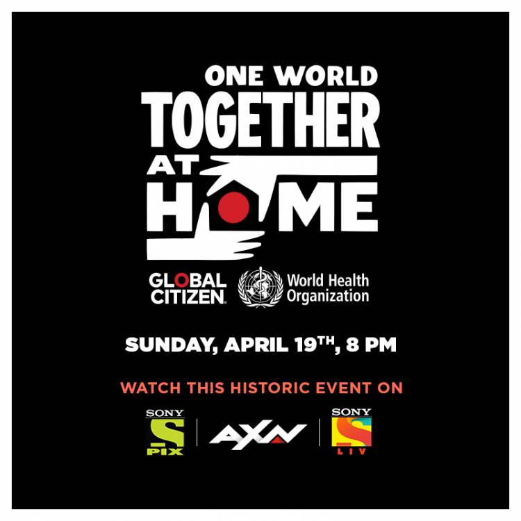 'One World: Together at Home' Global Special to air on Sony PIX, AXN and SonyLIV on April 19