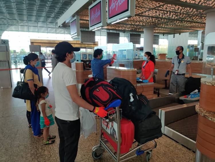 173 migrants flown by AirAsia India from Mumbai to Dehradun supported by NLS Alumni