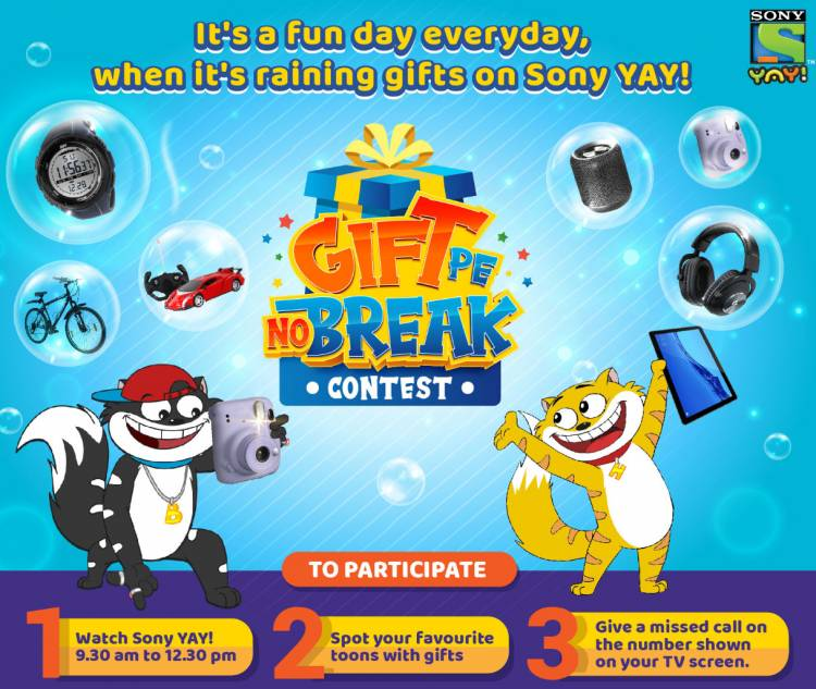 Honey Bunny to make July all the more joyful with Gifts Pe No Break Contest