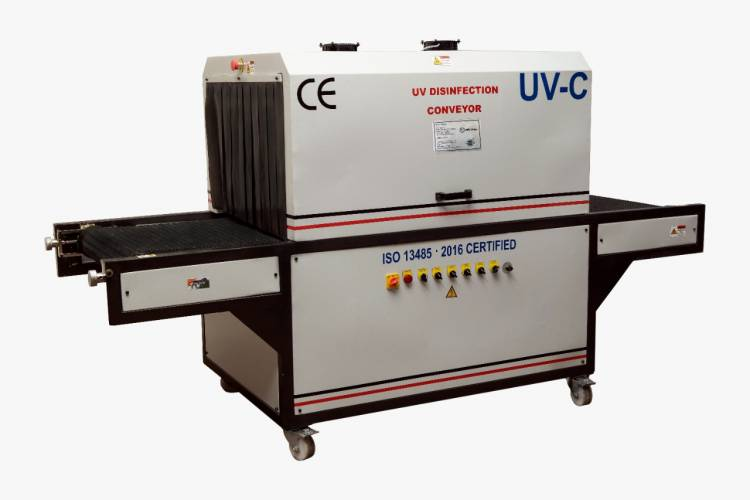 MSV-India Inc develops a UV Disinfection Conveyor for fighting COVID-19 in public places