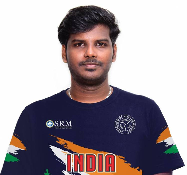 SRM Student to captain Indian Team in E-sport challenge football tournament