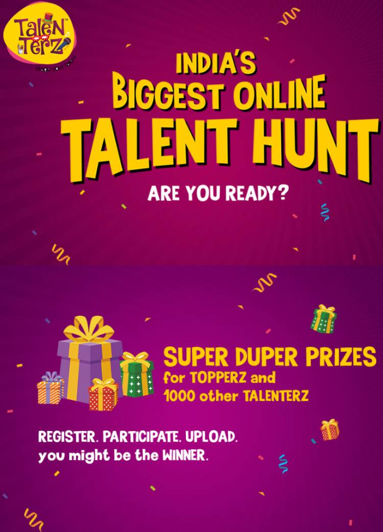 'TALENTERZ' to host India's biggest online talent  hunt, winners will showcase on global stage!
