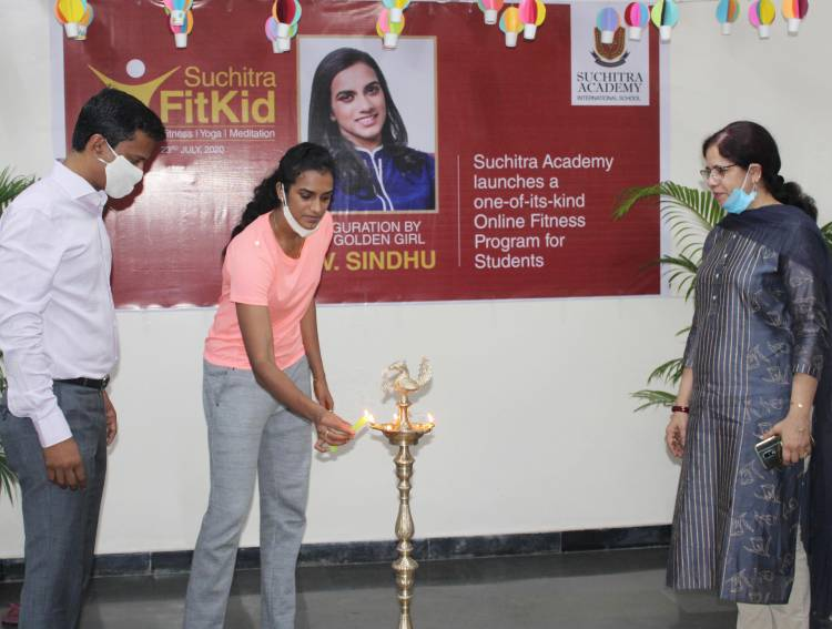 Badminton ace PV Sindhu launches India's first Online Physical Educational curriculum 'Suchitra FitKid'