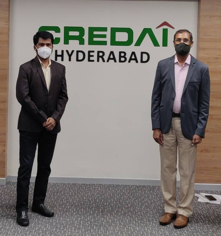 CREDAI Hyderabad initiated the campaign to safeguard consumers purchasing undivided share of land