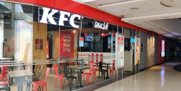 KFC set to welcome fans at new restaurant in SKLS Galaxy Mall in Chennai