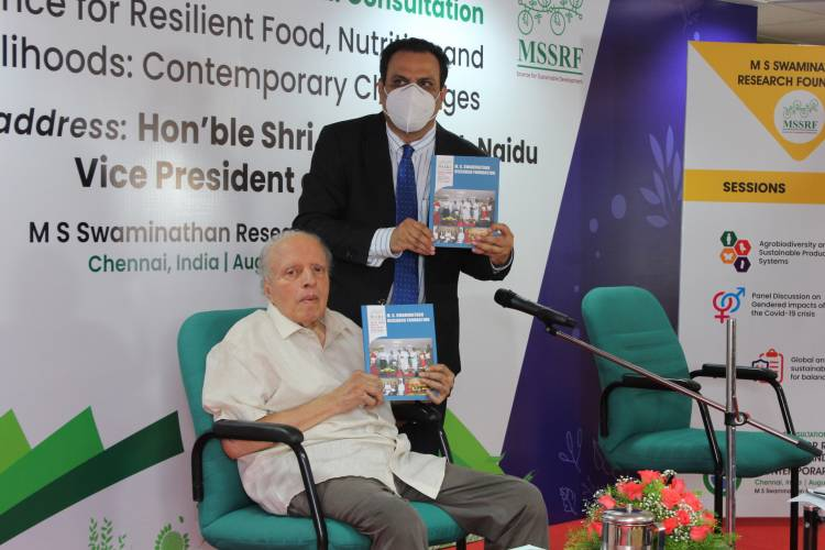 Women should have equal land rights: Vice President of India at MSSRF conference launch