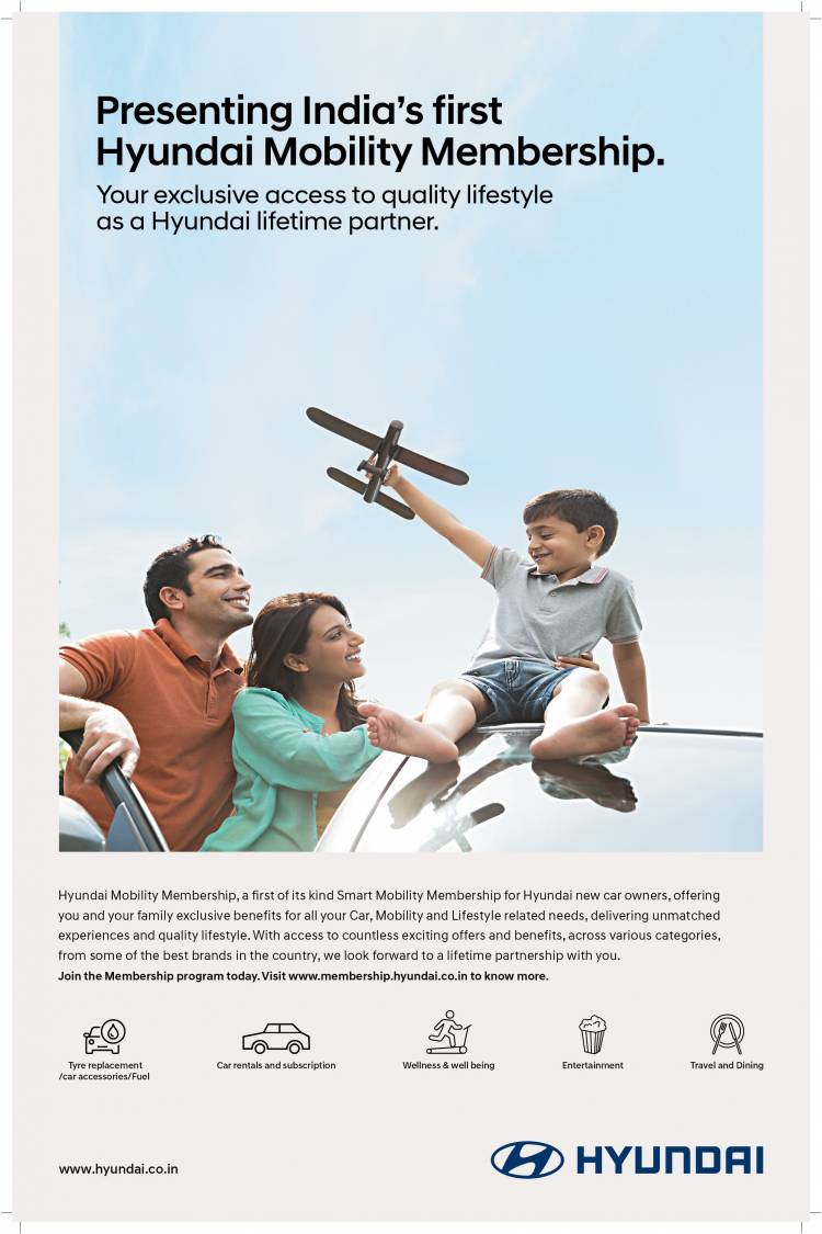 'Hyundai Mobility Membership' India's First Smart Ownership & Lifestyle Experience