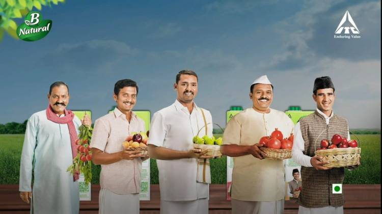 ITC Ltd.'s B Natural dedicates 'Hum Honge Kamyaab Har Din', a song of hope to Indian farmers on India's 74th Independence Day
