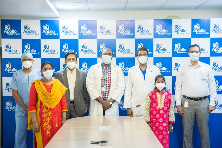 Apollo Hospitals Successfully Performed Two Complicated Liver Transplants on Children with a Rare Disorder