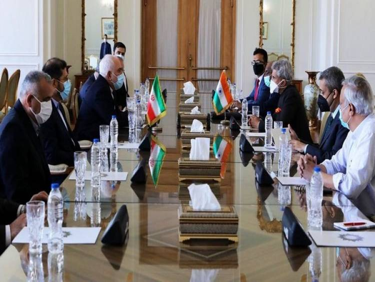 Jaishankar meets his Iranian counterpart enroute to Moscow for SCO Foreign Ministers' meet