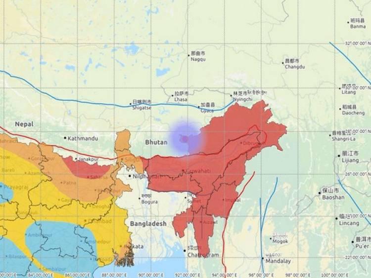 அருணாசல பிரதேசத்தில் நிலநடுக்கம் ரிக்டரில் 3.0