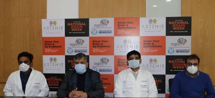 Artemis Hospitals commemorates National Brain Week to disseminate awareness on neurological disorders