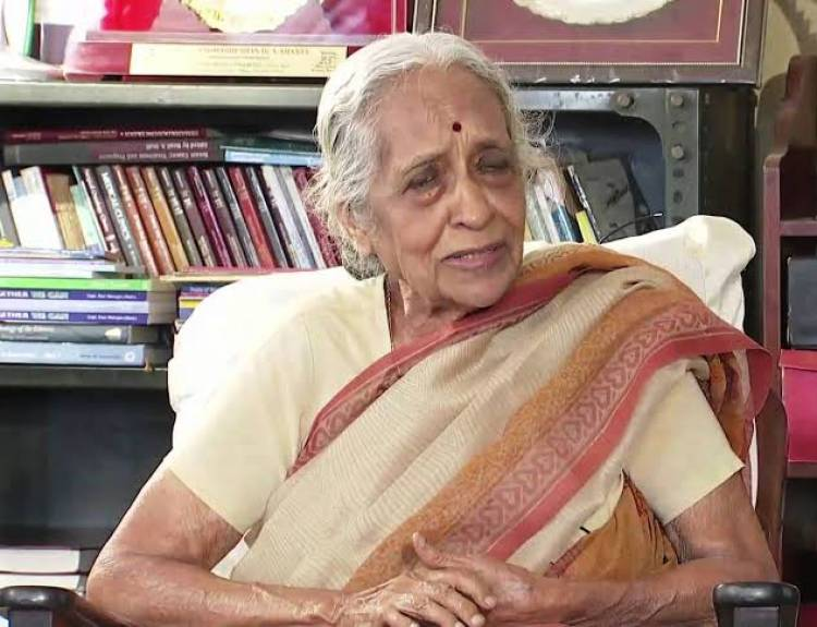 Dr. V. Shanta an Indian oncologist and the chairperson of Adyar Cancer Institute, Chennai, Has Passed Away