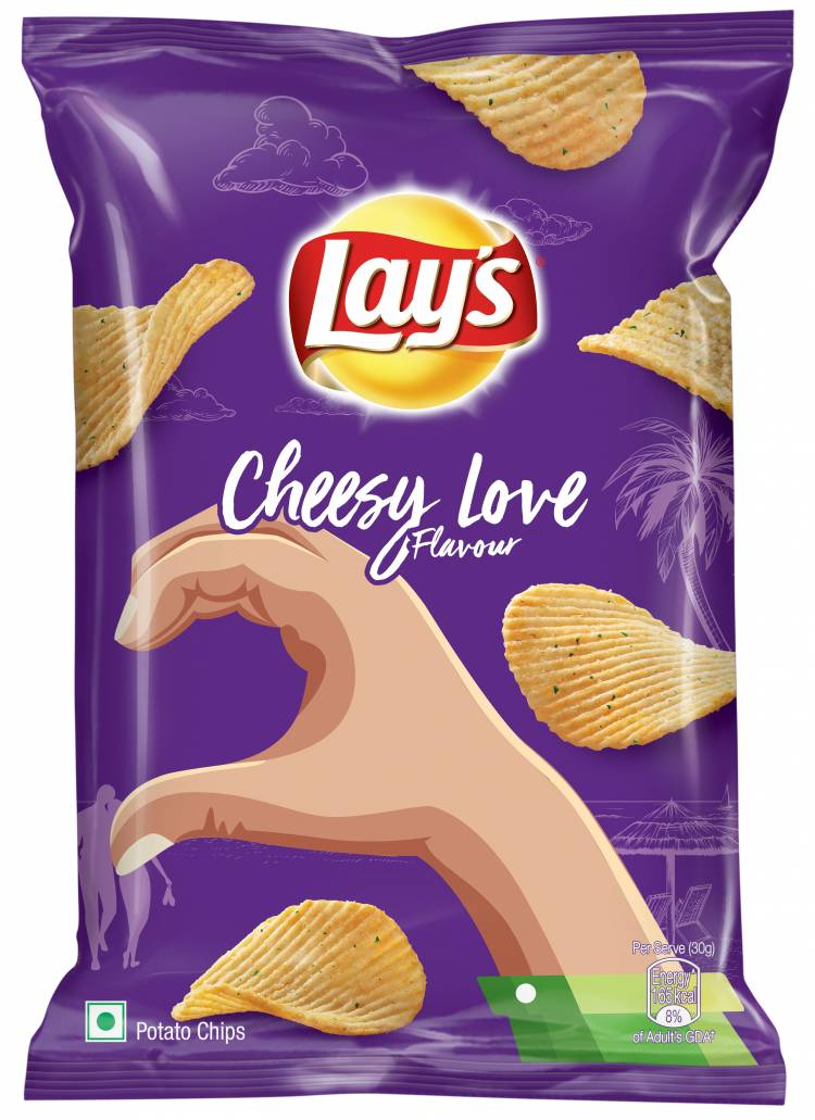 LAY'S LAUNCHES NEW LIMITED-TIME FLAVOURS - LAY'S HERBY CRUSH AND LAY'S CHEESY LOVE