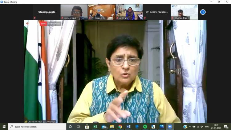 PGDM(GM) class of XLRI Hosts a Leadership Talk with Dr. Kiran Bedi