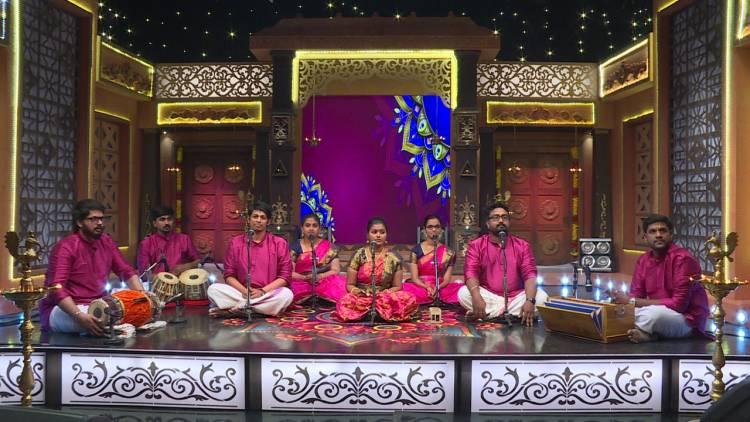 COLORS Tamil brings to you a week filled with divinity on Bhajan Samraat