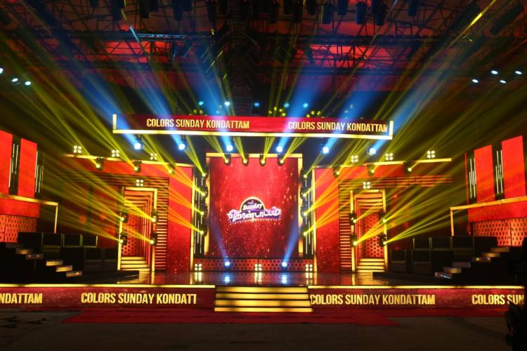 Colors Tamil brings together its stars for a weekend special show – Colors Sunday Kondattam