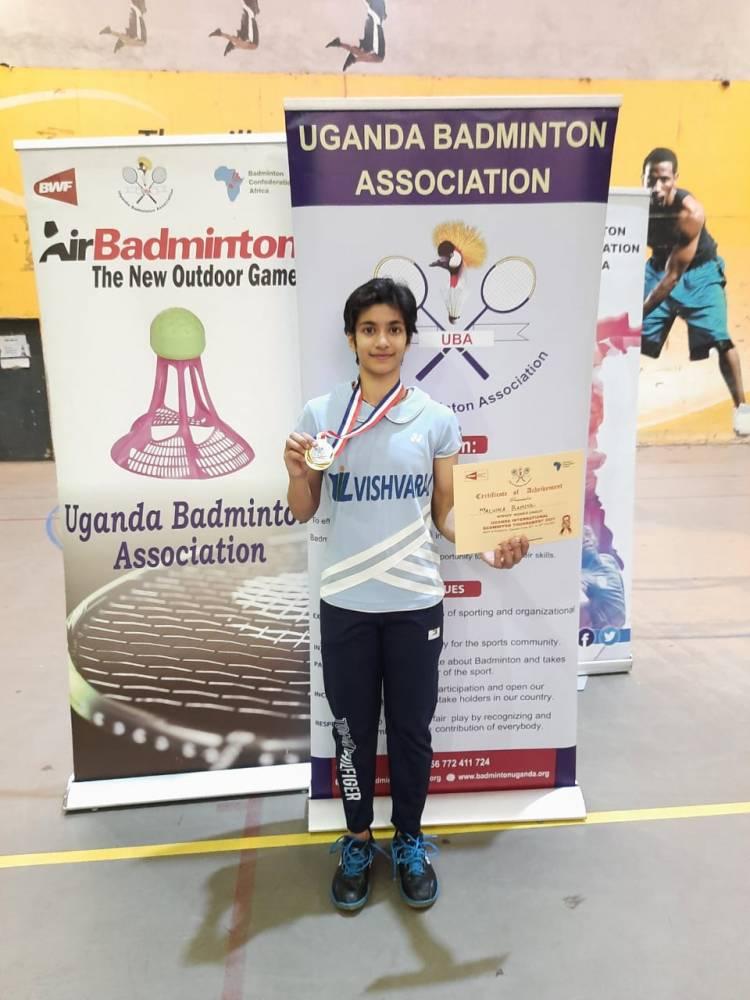 Uganda International 2021 Organised by Badminton Confederation of Africa  Kampala, Uganda 25/2/2021 to 28/2/2021