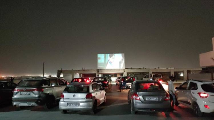 Pacific D21 brings Drive in Cinema at Rooftop for Delhites, the first time in India