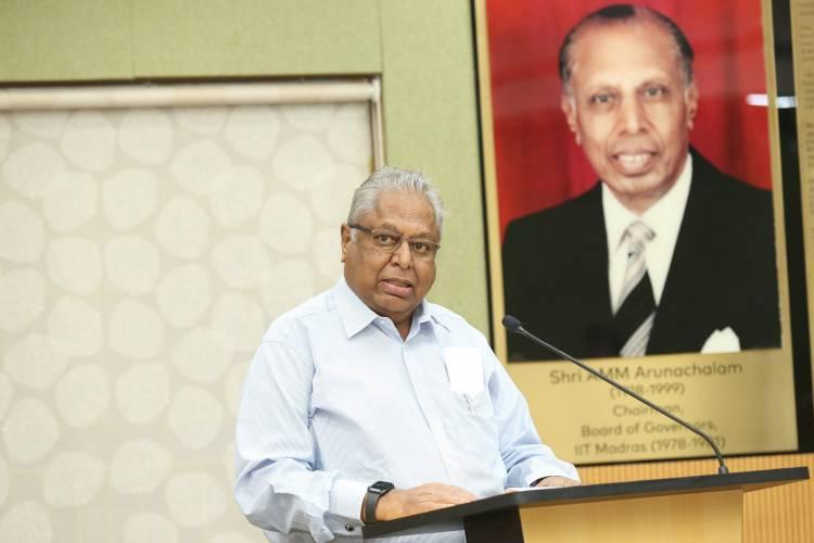 Endowment Created at IIT Madras in memory of Murugappa Group Patriarch Late Shri. A.M.M. Arunachalam