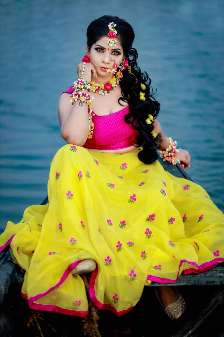Prarthana is a Kerala based model ready to try her luck in movies.