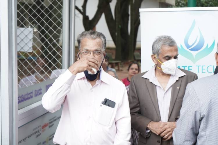 Advanced technology-based MEGHDOOT Atmospheric Water Generator (AWG) plant inaugurated at the Jawaharlal Nehru Planetarium (JNP), Bengaluru. The AWG provides pure drinking water sourced from the atmosphere.